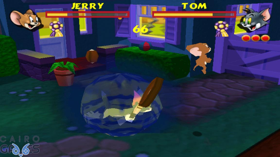 لعبة توم وجيري للكمبيوتر