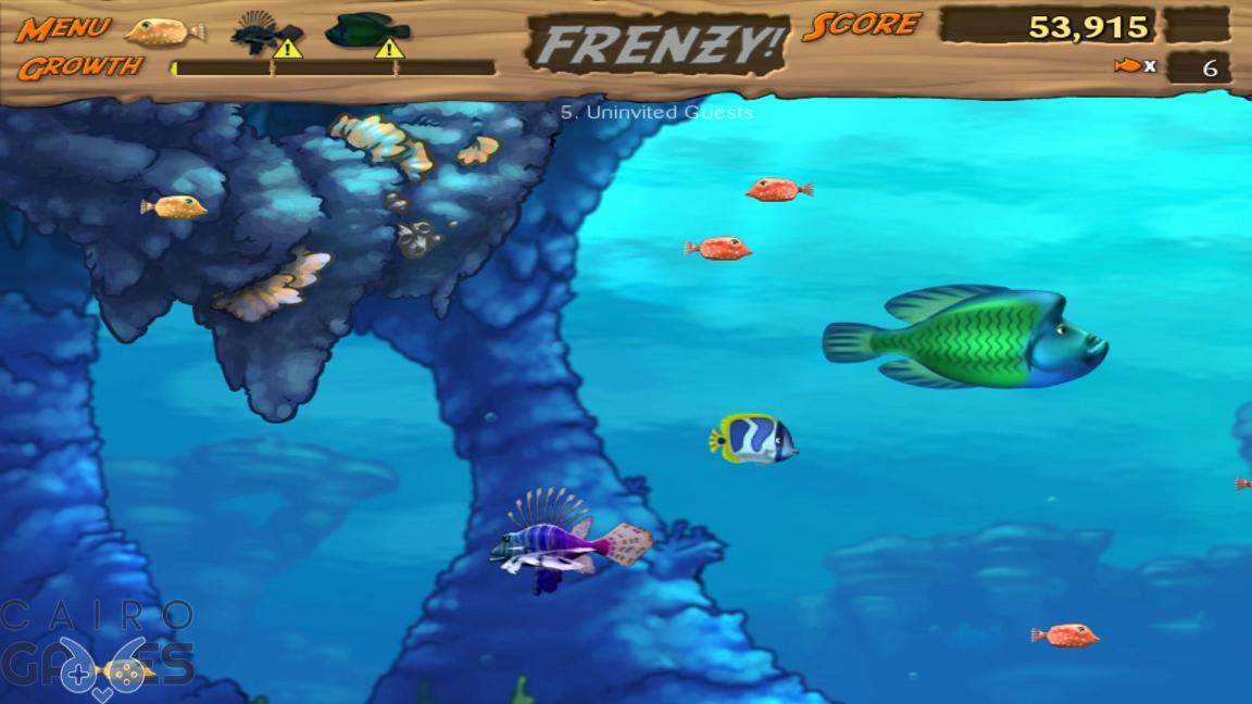 تحميل لعبة السمكة 3