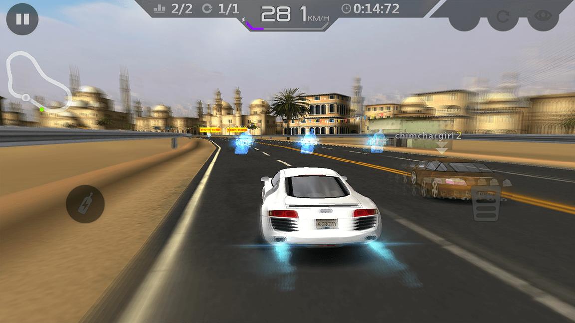 لعبة city racing 3d