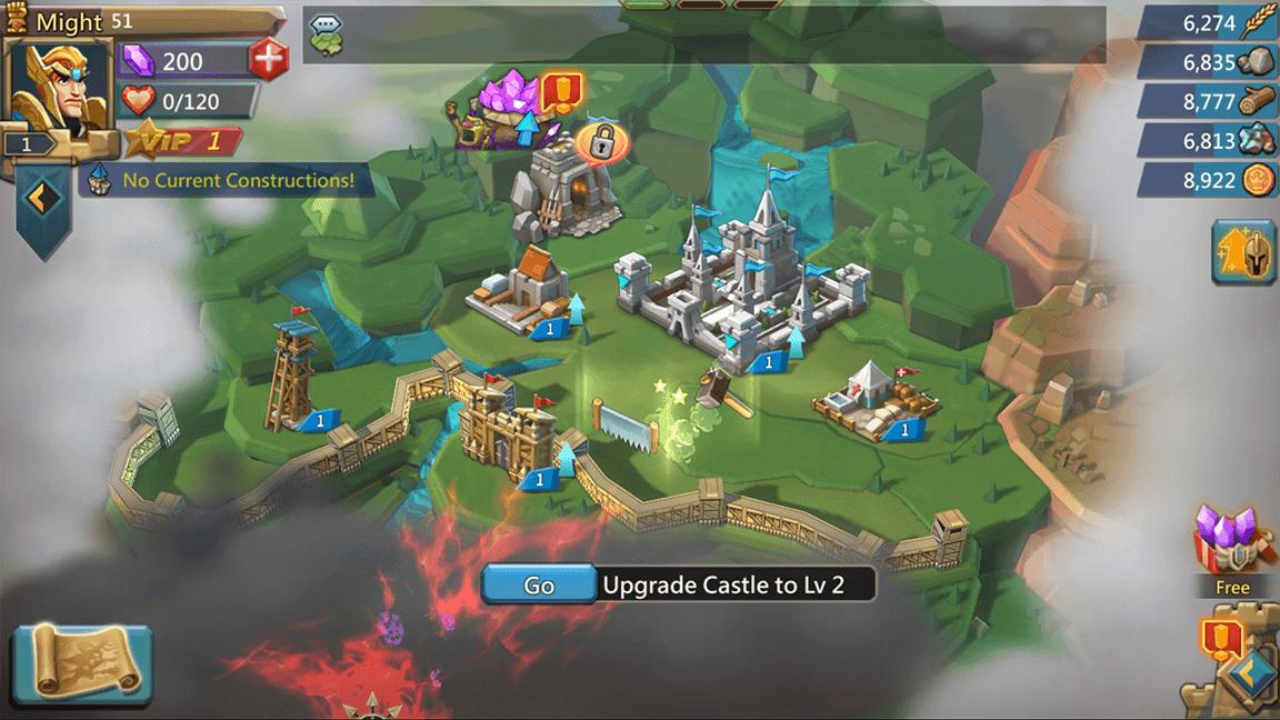 لعبة lords mobile