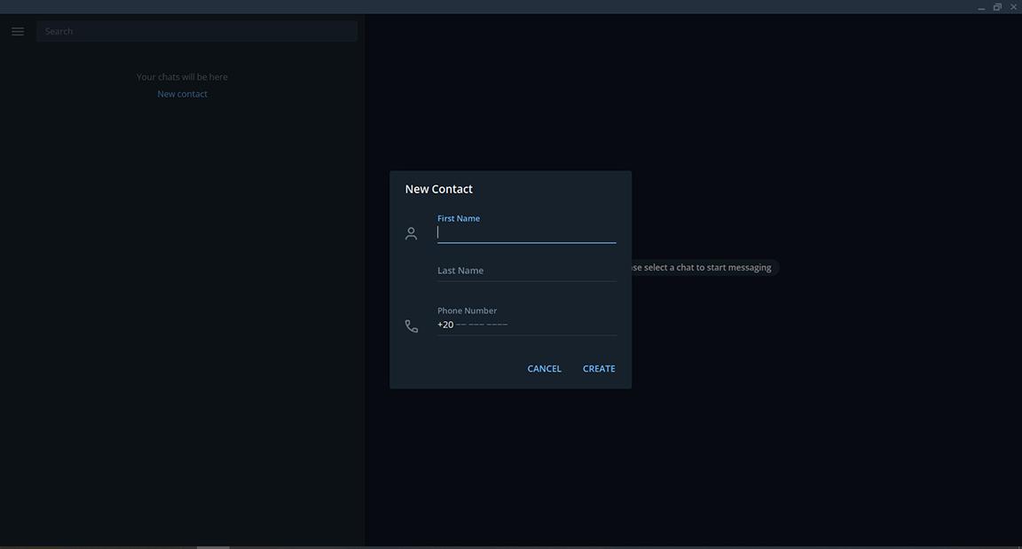 تحميل برنامج telegram للكمبيوتر