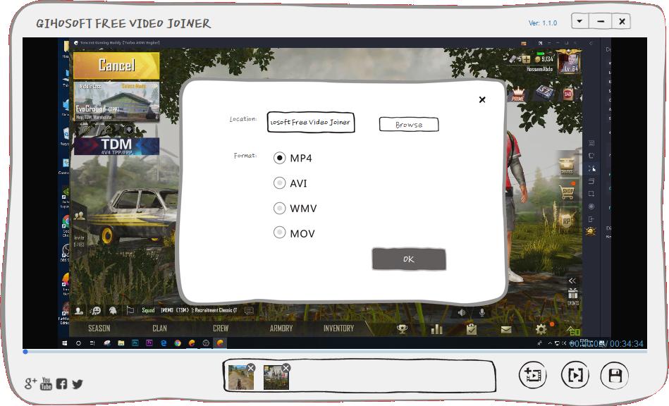 تحميل برنامج دمج الفيديوهات فى فيديو واحد