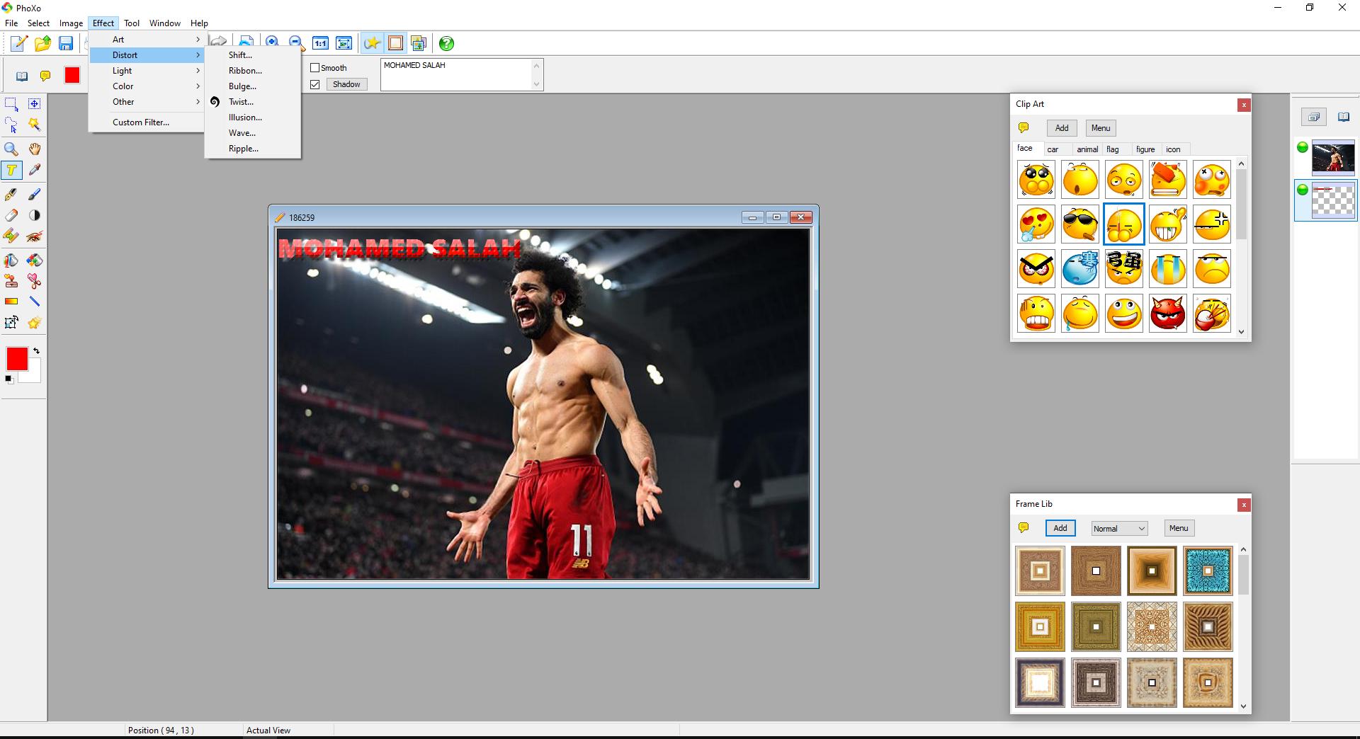 تحميل برنامج الكتابة على الصور للكمبيوتر Download PhoXo Free img 2798