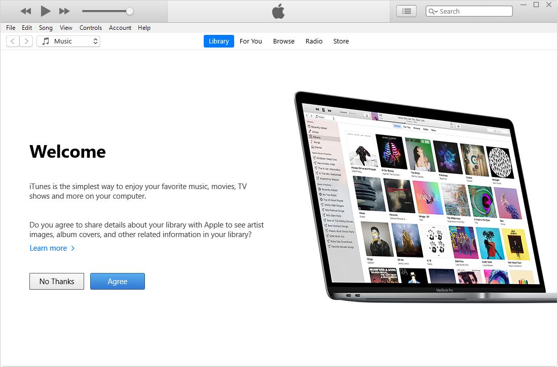 تحميل برنامج iTunes للكمبيوتر
