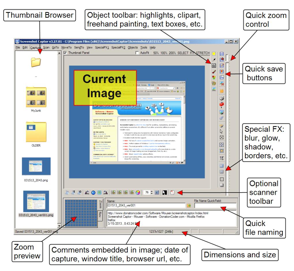 تحميل برنامج سكرين شوت للكمبيوتر Download Screenshot Captor img 2851