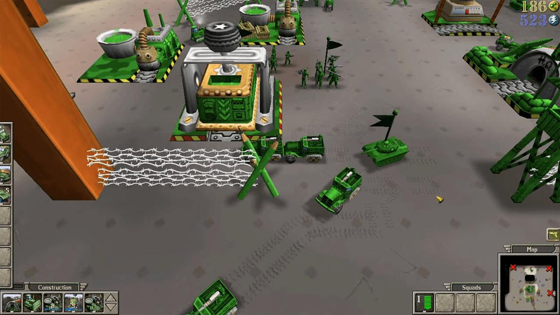لعبة الجيش الاخضر