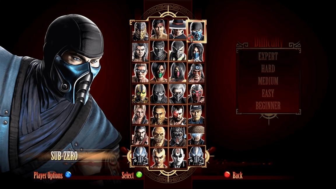لعبة Mortal Kombat 9
