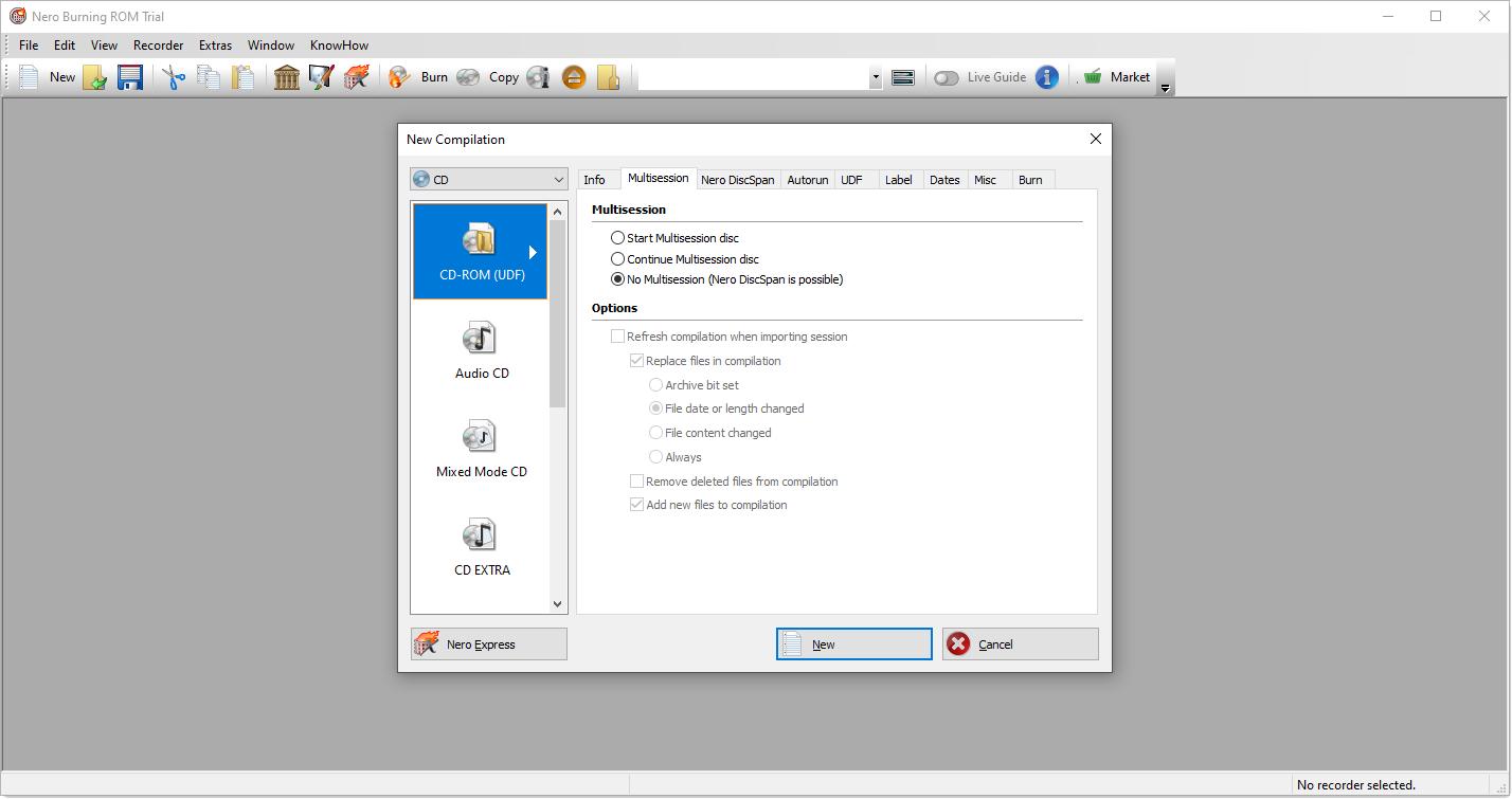 تحميل برنامج نيرو Nero Burning ROM لنسخ الاسطوانات مجانا img 2961