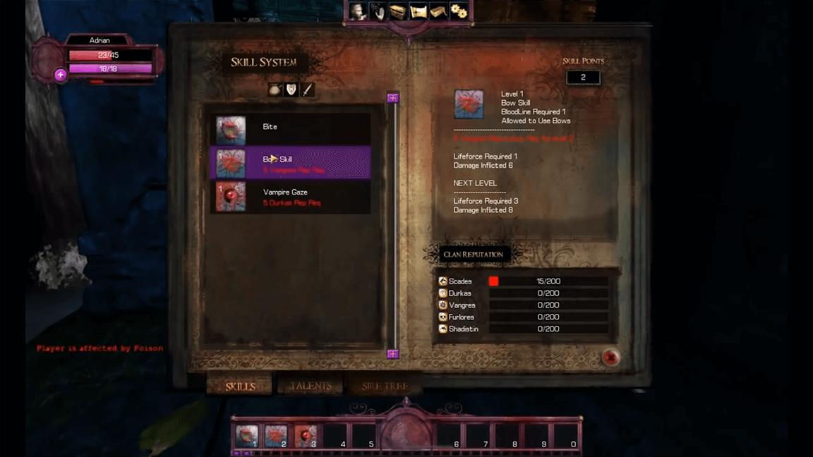 تحميل لعبة مصاص الدماء القديمة