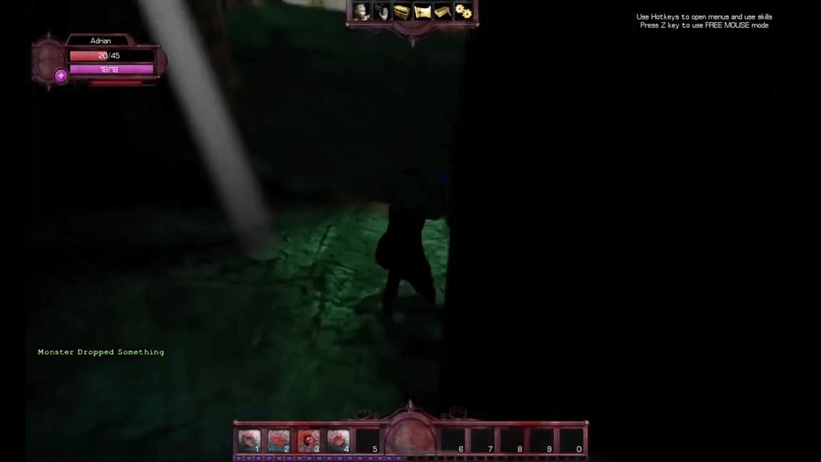 لعبة مصاص الدماء القديمة