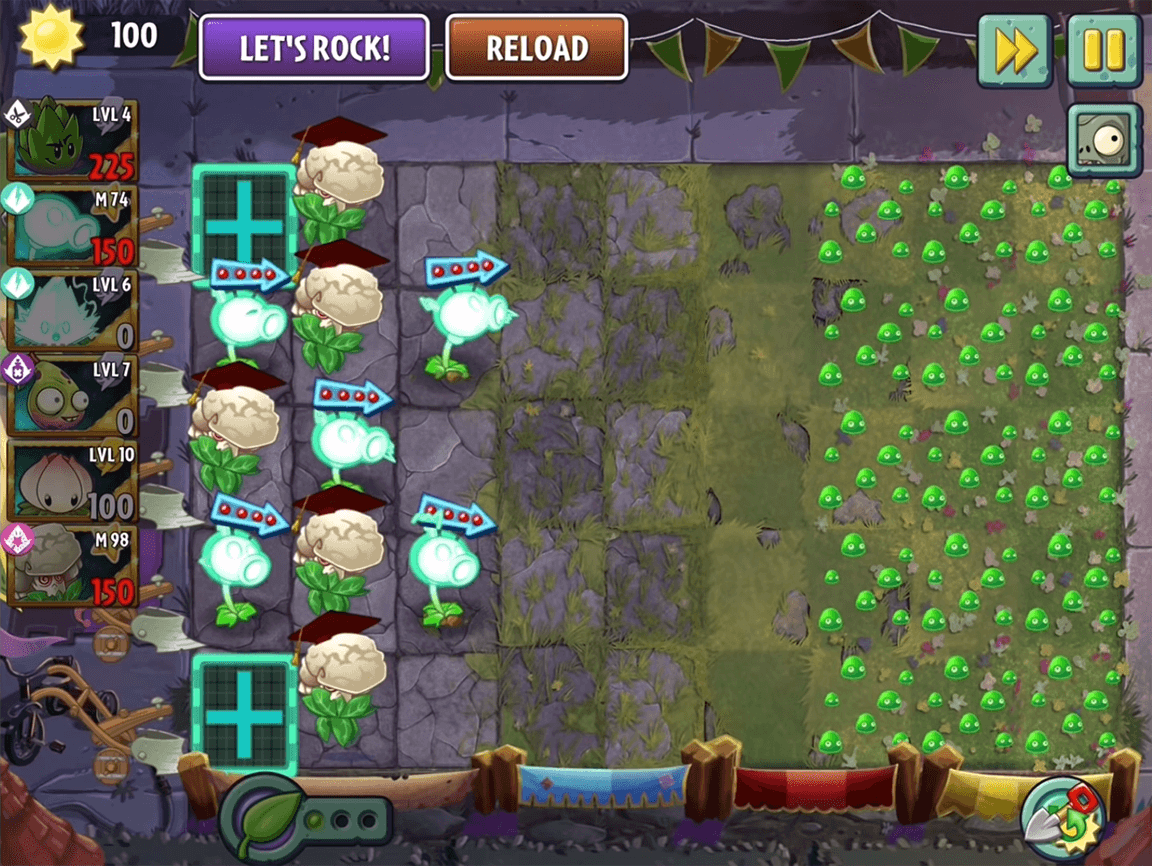 لعبة النباتات ضد الزومبي 4 للكمبيوتر