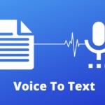 تحميل برنامج تحويل الصوت الى نص مكتوب للكمبيوتر مجانا