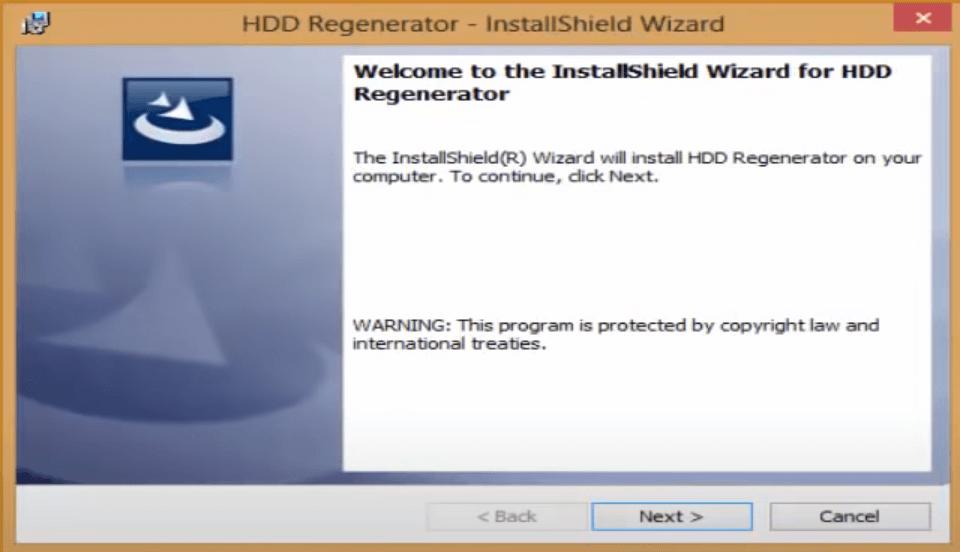 تحميل برنامج HDD Regenerator