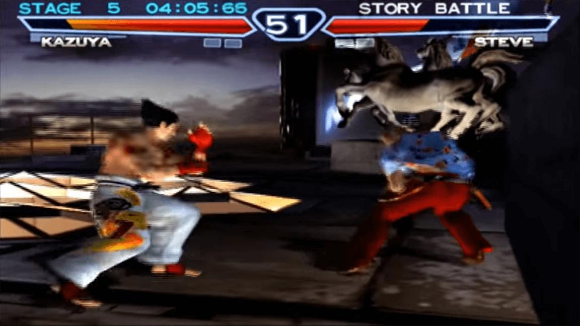 لعبة Tekken 4