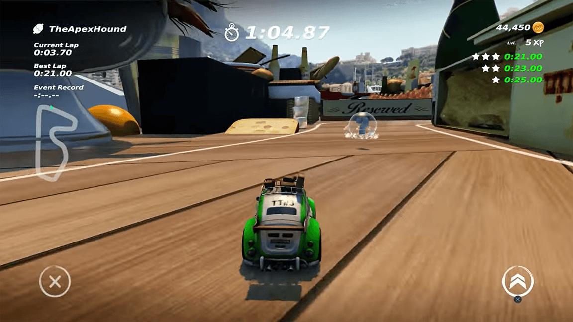 لعبة Table Top Racing World Tour