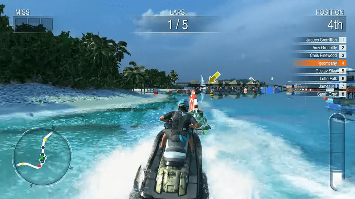 تحميل لعبة Aqua Moto Racing Utopia