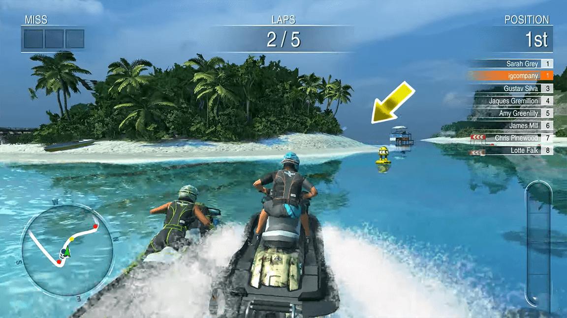لعبة Aqua Moto Racing Utopia