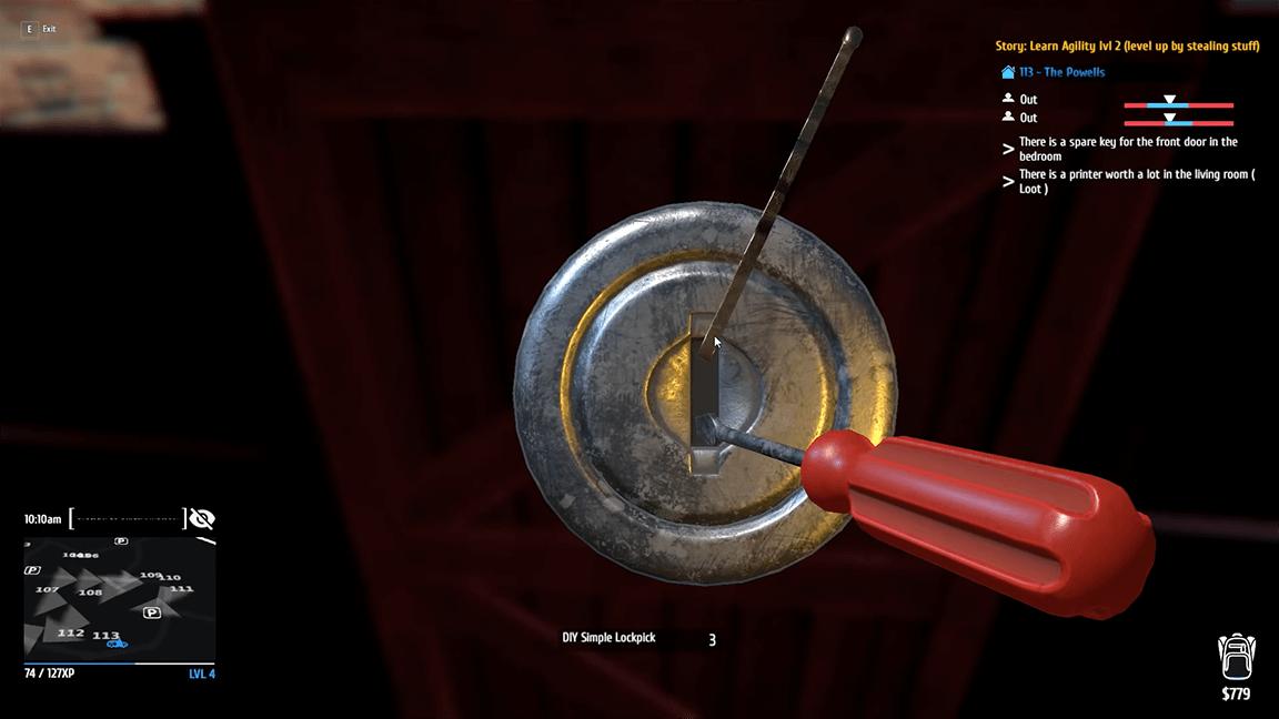 تحميل لعبة Thief Simulator
