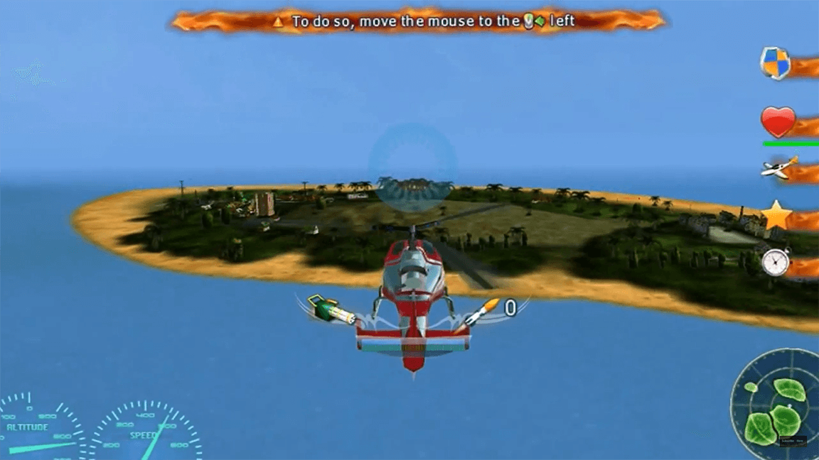 لعبة Helicopter Wars