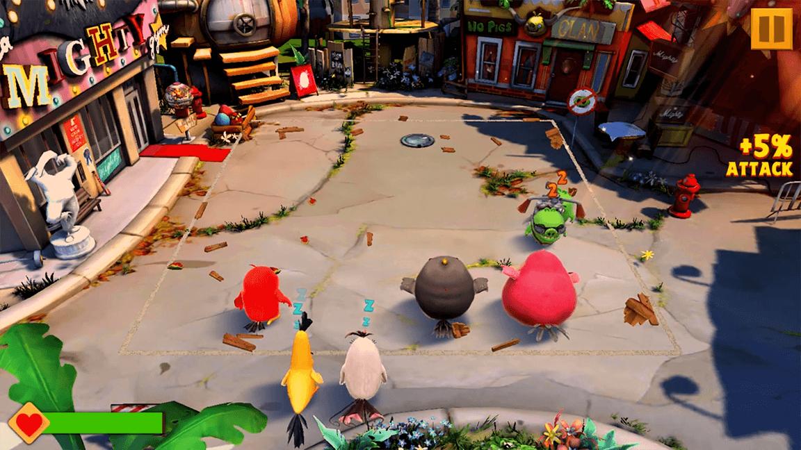 تحميل لعبة Angry Birds Evolution