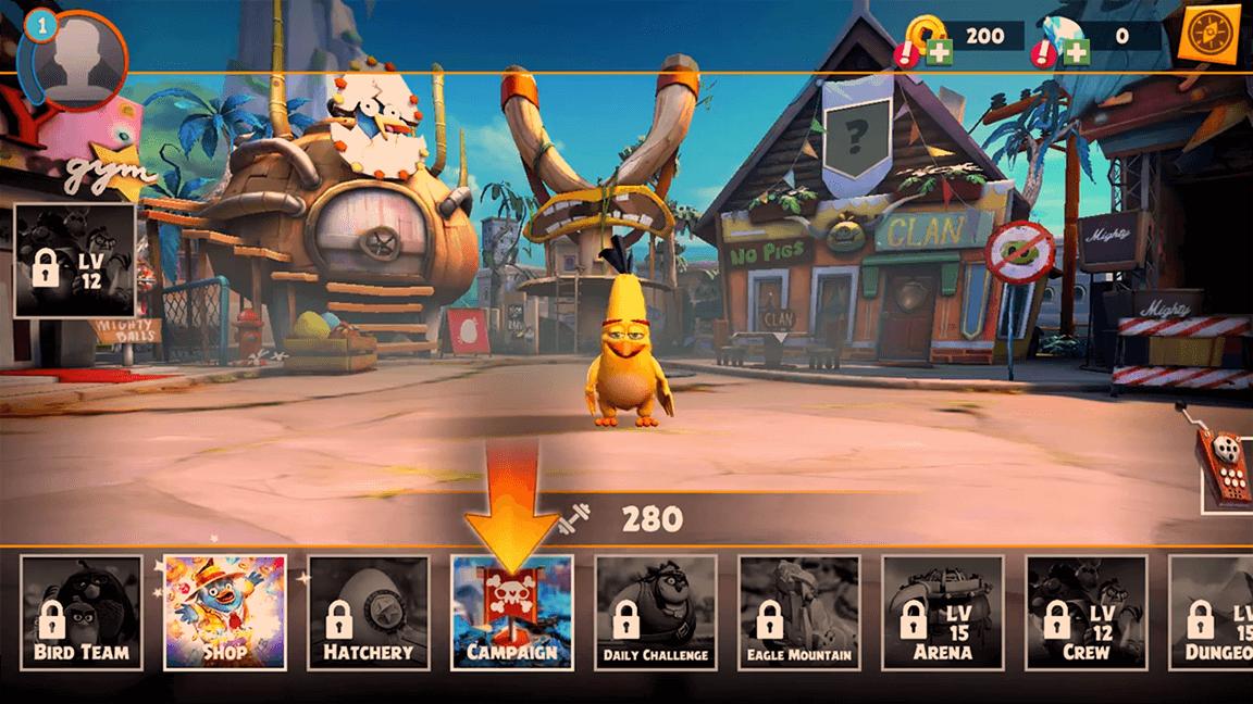 لعبة Angry Birds Evolution