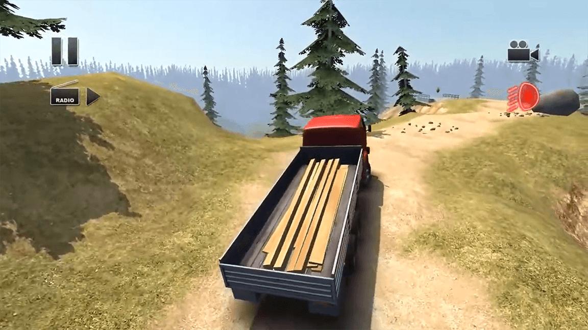 تحميل لعبة Truck Driver Steep Road