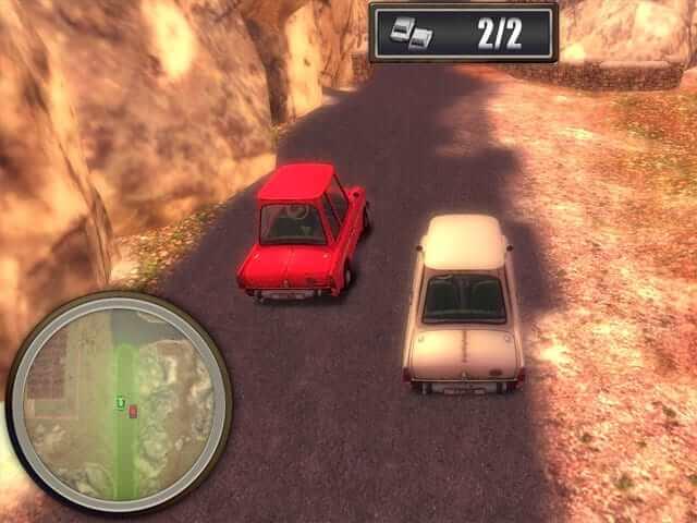Retro Car Driver