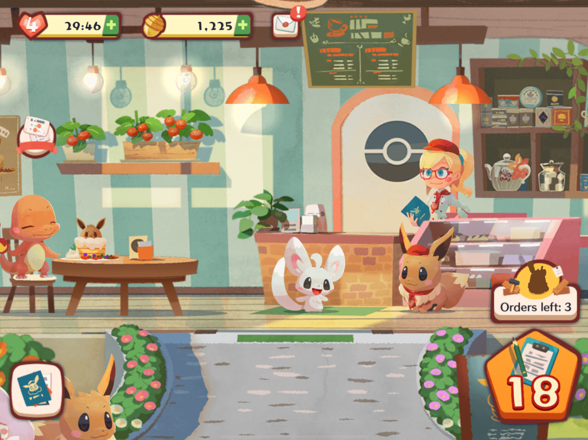 تحميل لعبة Pokémon Café Mix