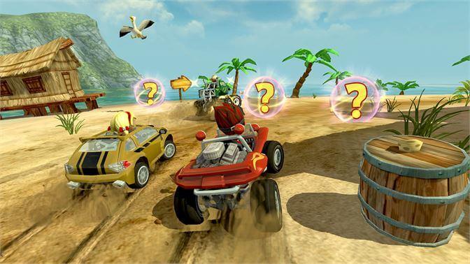 تحميل لعبة Beach buggy Racing