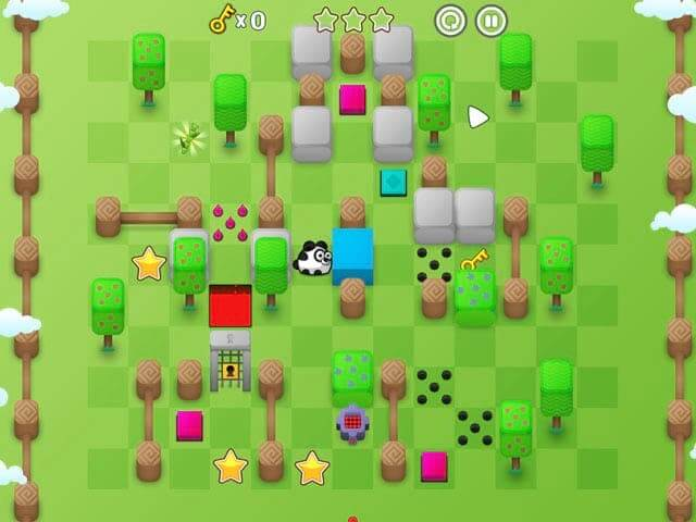 لعبة Panda Chunky