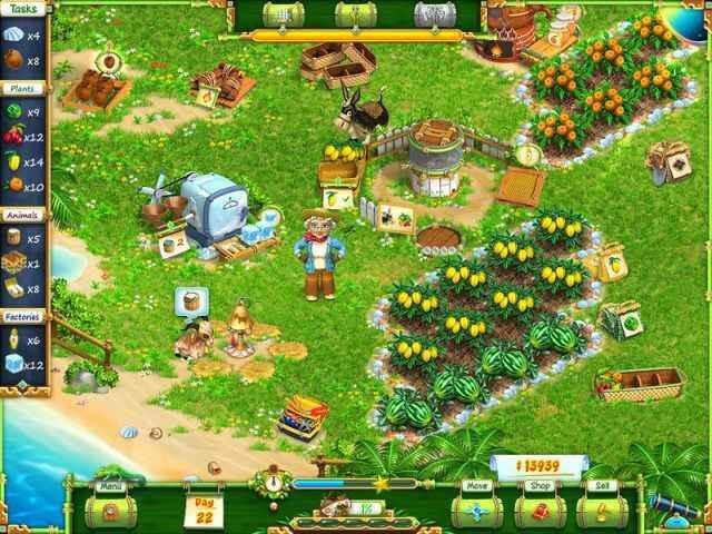 تحميل لعبة Exotic Farm