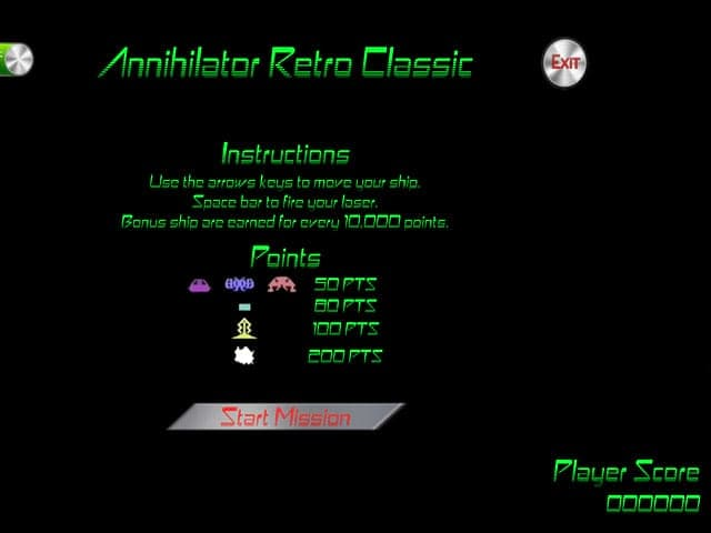 لعبة Annihilator Retro Classic