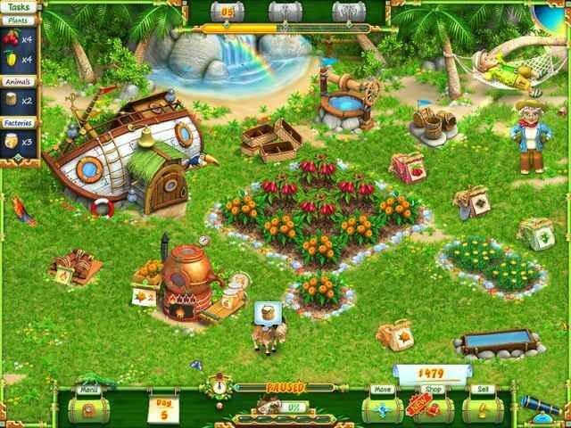 لعبة Exotic Farm