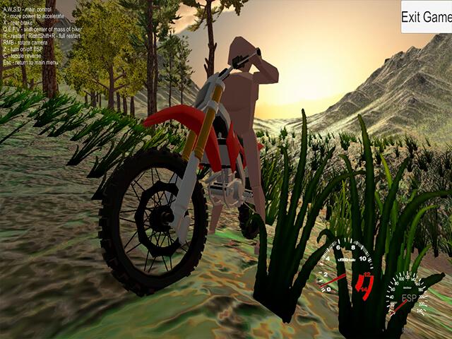 لعبة Forest Bike