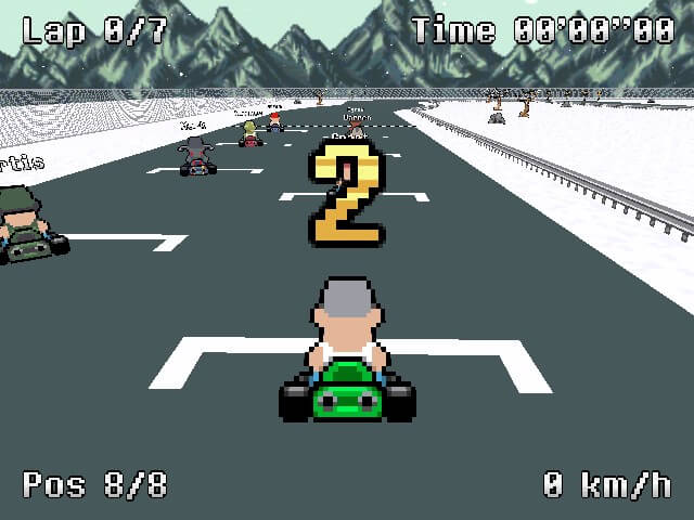 لعبة Testosterone Karting