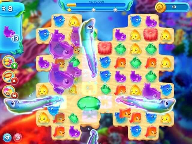لعبة Flying Fish Quest