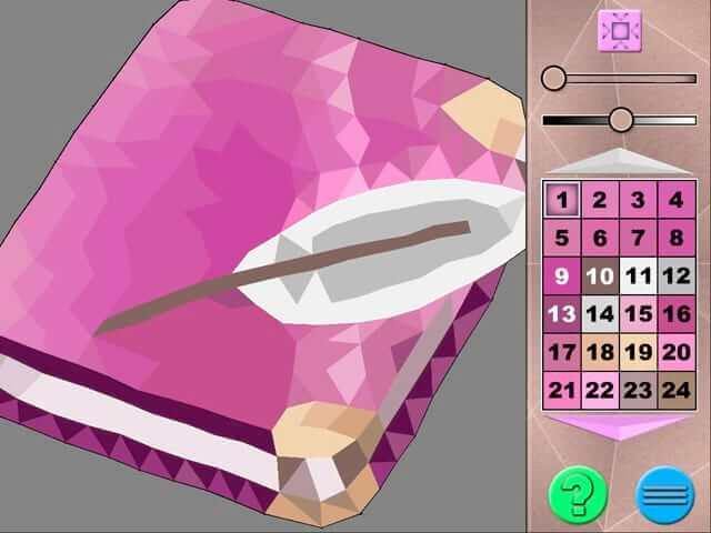 لعبة Polygon Art