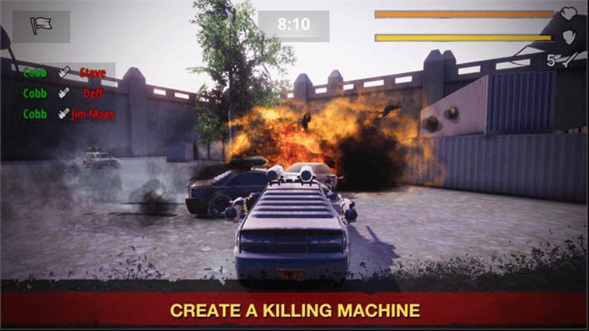 لعبة حرب السيارات