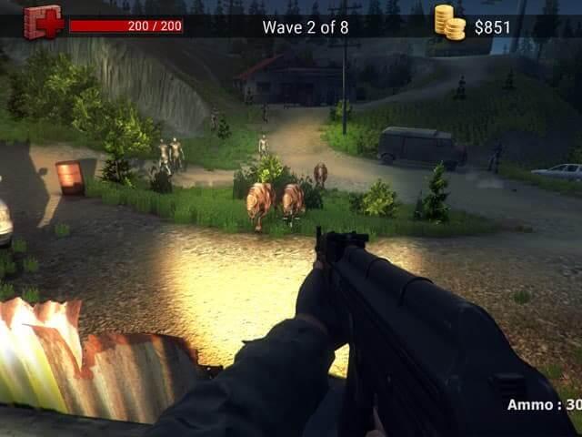 لعبة Zombie Apocalypse