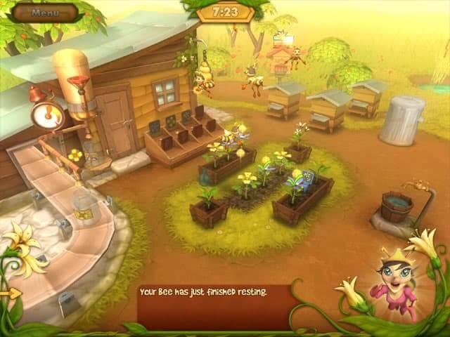 لعبة Bee Garden